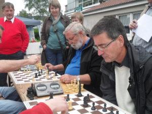 Ulrich Eisenburger vorne Peter Herröder daneben
