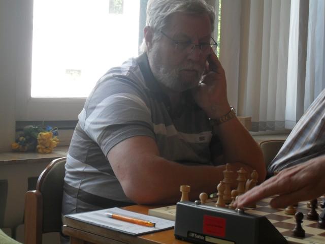 Peter Herröder gelang der einzige Sieg.