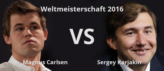 Weltmeisterschaft 2016, Magnus Carlsen VS Sergey Karjakin