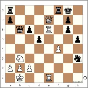 Peter Zocher vs Jens Rohrsen (34. De7?!)