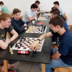 vlnr. Lennart, Alexander, Artem, Felix