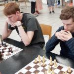 vlnr. Lennart Albrandt und Alexander Lachowski